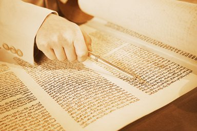 ספרי תורה - עמוד בדיקה
